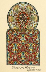 Belcher Moresque Window Design, 1886 Catalog