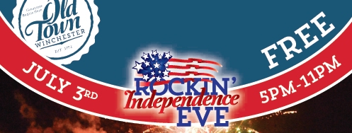 Rockin' Independence Eve and July Schedule