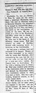 Alexandria Gazette Jan. 15, 1917