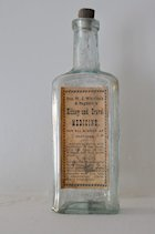 Medicine bottle from Dr. w. J. Whitlock and Nephew.