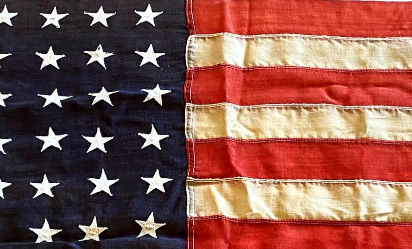A Flag with 48 Stars