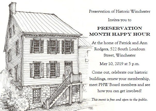 The Preservation Month Happy Hour Is Tonight!